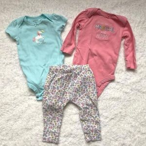Carters outfit, 6 months